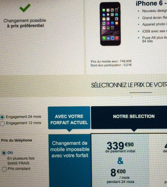 Pré-commandes ouvertes pour les iPhone 6 sur Bouygues Telecom Photo_10