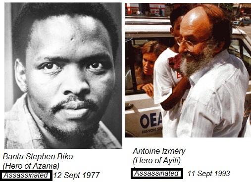RESPECT FOR BIKO & IZMÉRY - Heroes Who Fell on September 11 Antoin10