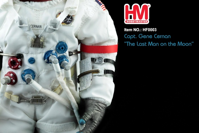 HOBBY MASTER - GENE CERNAN - 1/6 Hf000316