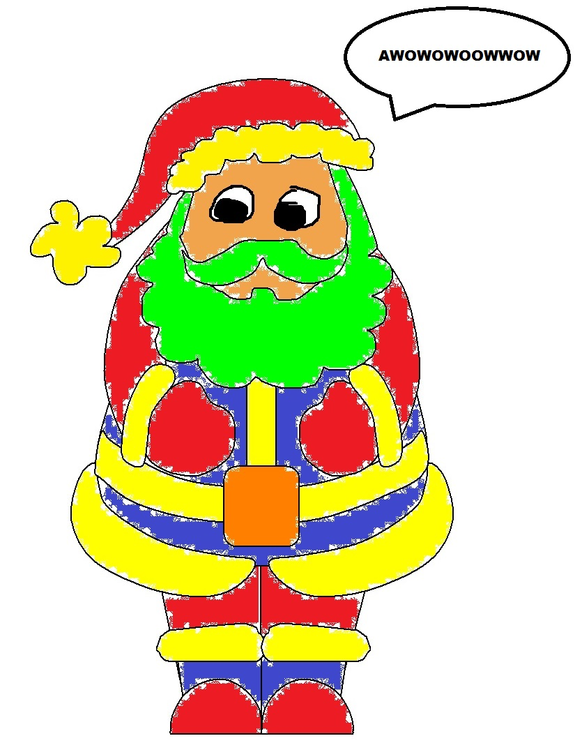 Santa Drawing Contest Delita11