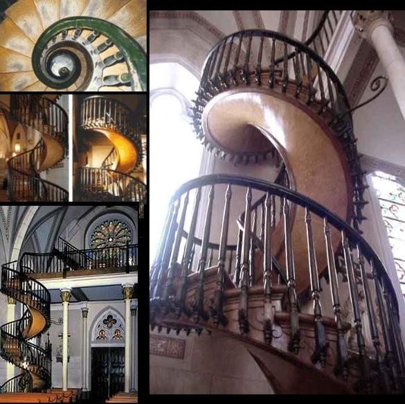 le myst re de l 39 escalier de santa fe. Black Bedroom Furniture Sets. Home Design Ideas