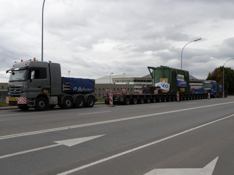 Schwertransporte in Luxemburg 00115