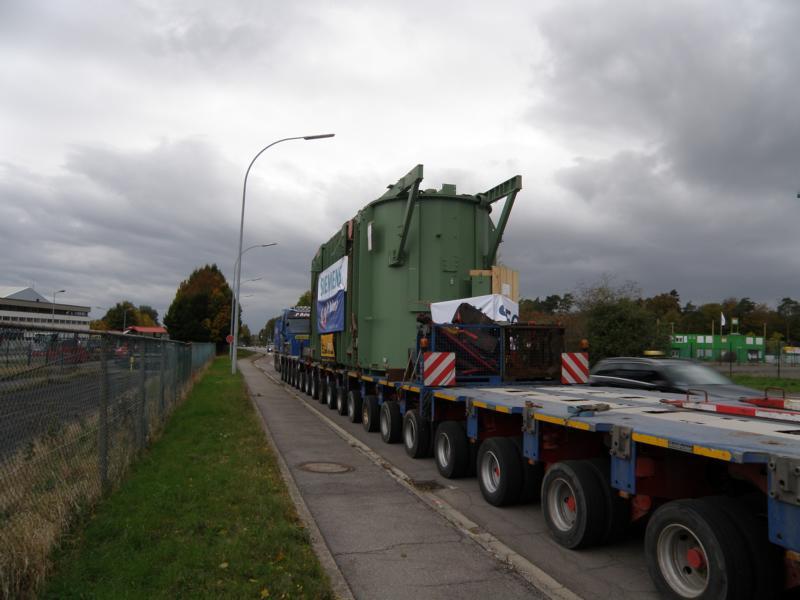 Schwertransporte in Luxemburg 01311