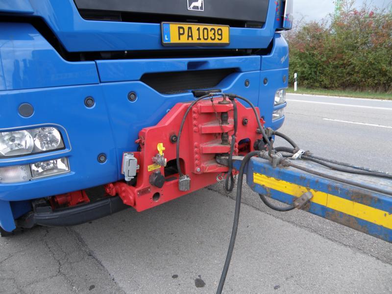 Schwertransporte in Luxemburg 01511