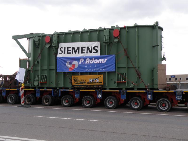 Schwertransporte in Luxemburg 02312