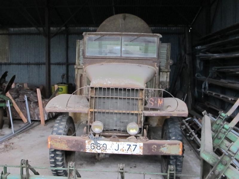 GMC CCKW 353 ...une petite trouvaille, dans une petite grange ... Img_5110