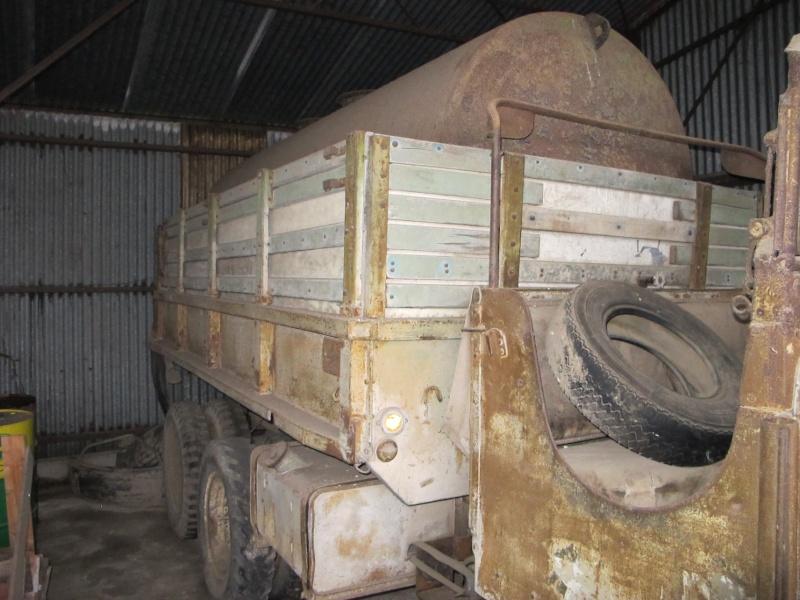 GMC CCKW 353 ...une petite trouvaille, dans une petite grange ... Img_5113