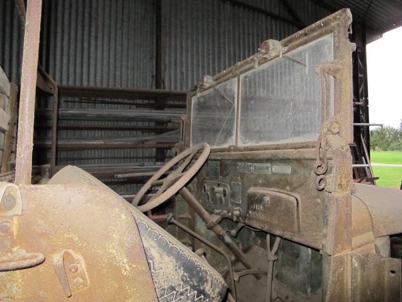 GMC CCKW 353 ...une petite trouvaille, dans une petite grange ... Img_5114
