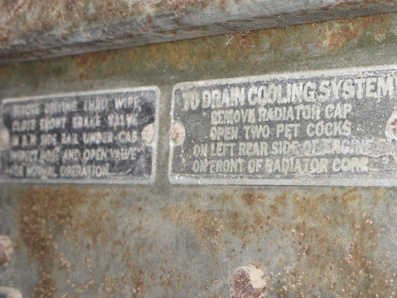 GMC CCKW 353 ...une petite trouvaille, dans une petite grange ... Img_5118
