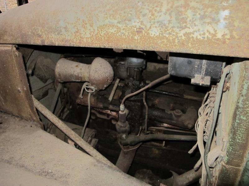 GMC CCKW 353 ...une petite trouvaille, dans une petite grange ... Img_5123