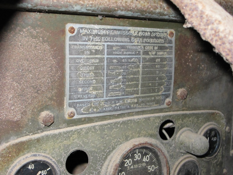 GMC CCKW 353 ...une petite trouvaille, dans une petite grange ... Img_5127