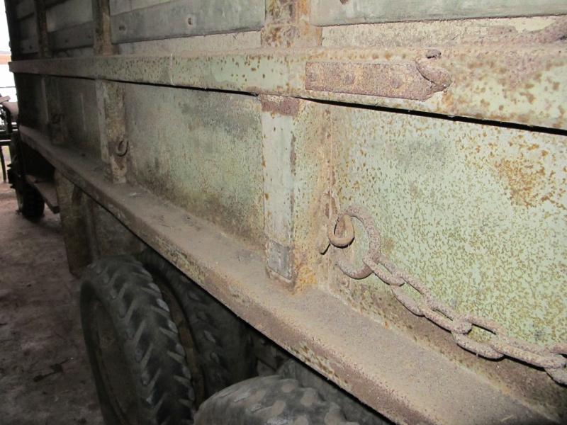 GMC CCKW 353 ...une petite trouvaille, dans une petite grange ... Img_5130