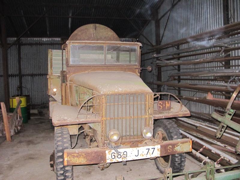 GMC CCKW 353 ...une petite trouvaille, dans une petite grange ... Img_5135