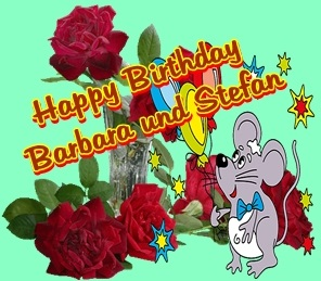Happy Birthday Barbara und Stefan Forums10