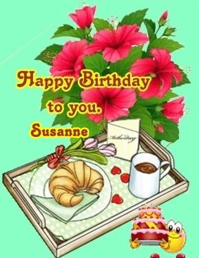 Happy birthday susanne2600 Susann10