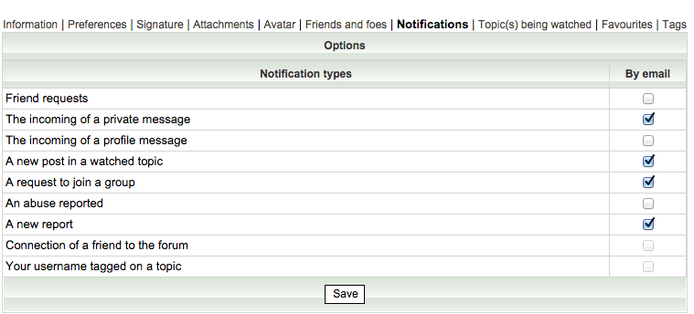 [New option]  Tag @member on your forum Screen12
