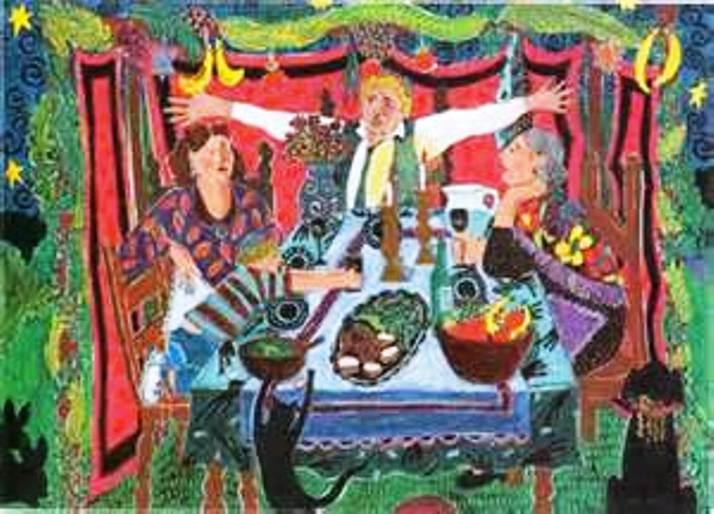 Fête juive : Souccoth, fête des huttes, Fête de la Joie éternelle Sukkot11