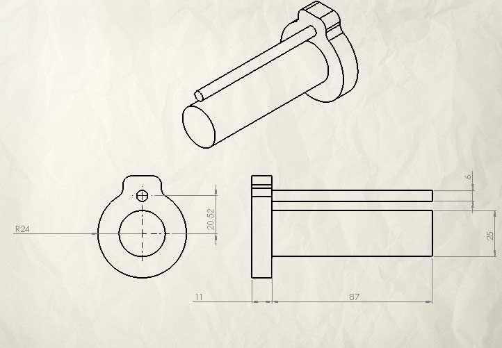 Colle Corian® (modif pistolet à cartouche) Arriar10