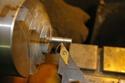 [créa. bois]Sculpture d'art moderne où le feu se lie a l'outil  Imgp3325