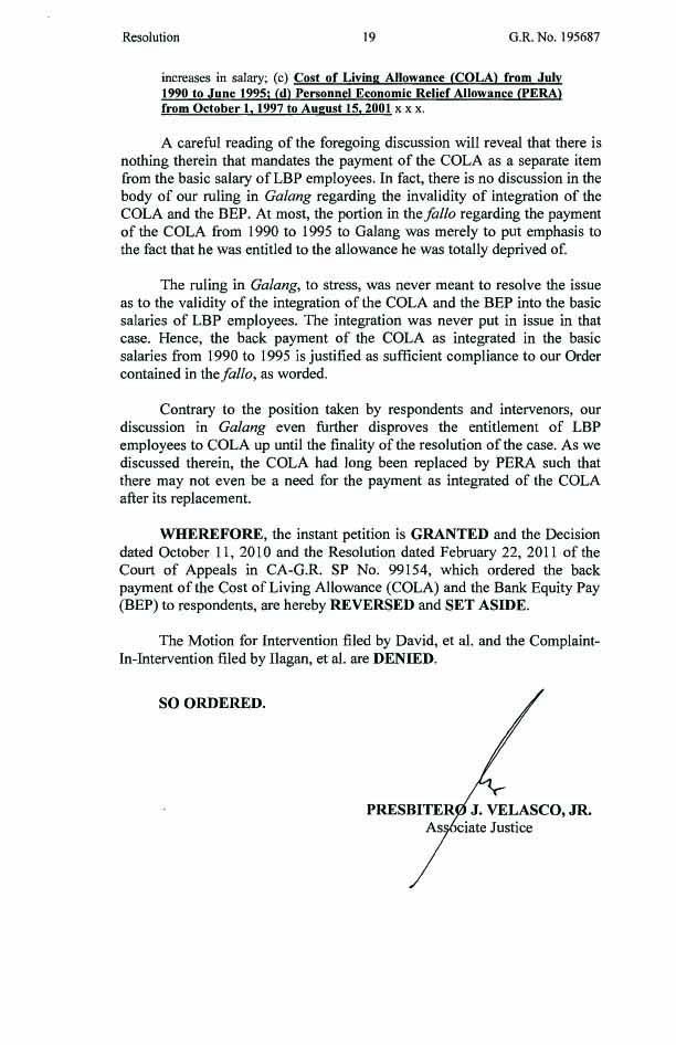 G.R. No. 195687. April 7, 2014 Land Bank of the Philippines Vs. David G. Naval, Jr., et al. Cola_s11