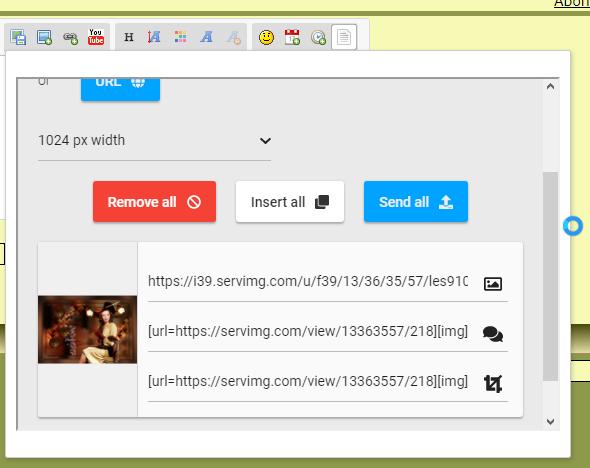 Probleem met servimg op Opera Screen13
