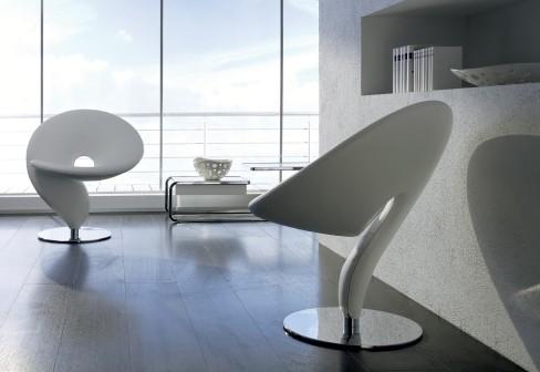 Chaise design point d'interrogation P2690711