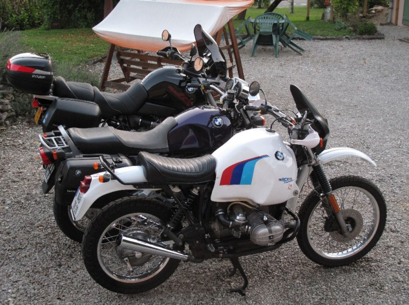 Une R100R Flatistanaise........    - Page 3 Img_1411