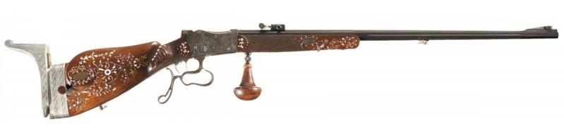 une carabine de match suisse système MARTINI  de J. HARTMANN cal.7.5x55  15828310