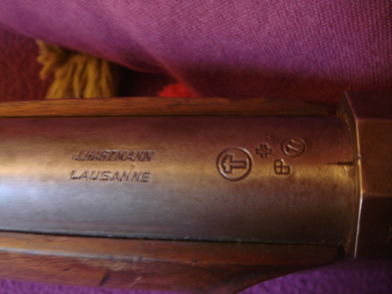 une carabine de match suisse système MARTINI  de J. HARTMANN cal.7.5x55  Dsc04212