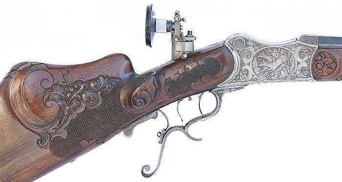 une carabine de match suisse système MARTINI  de J. HARTMANN cal.7.5x55  H11-bi10