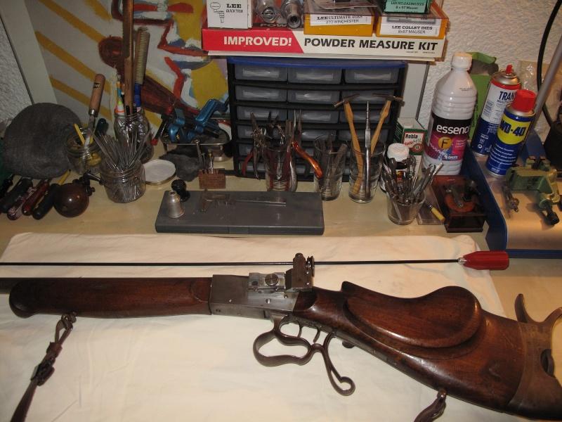 une carabine de match suisse système MARTINI  de J. HARTMANN cal.7.5x55  Img_1542