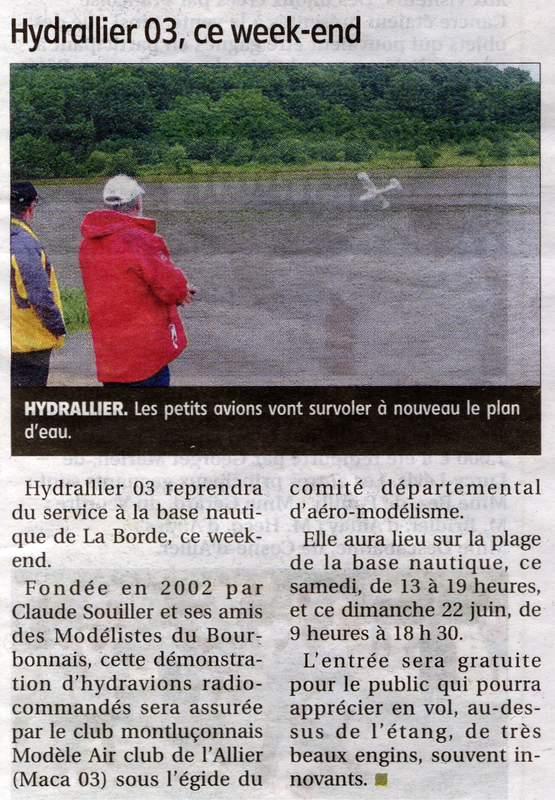 Hydrallier 2014 à Vieure (03) les 21 et 22 juin  Hydral10