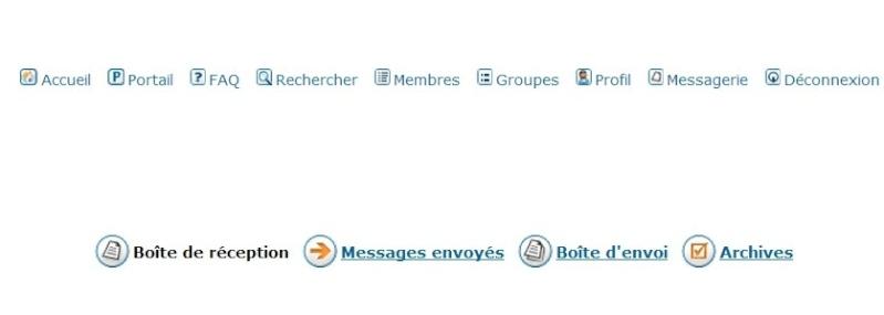 Les MP sur le forum Screen19