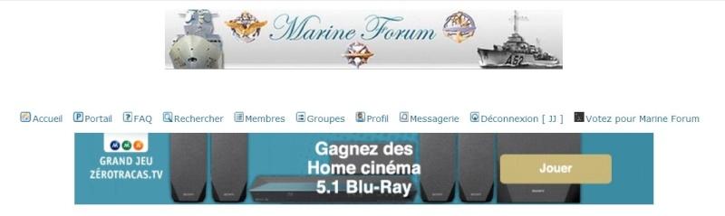 Publicité sur portail Screen55