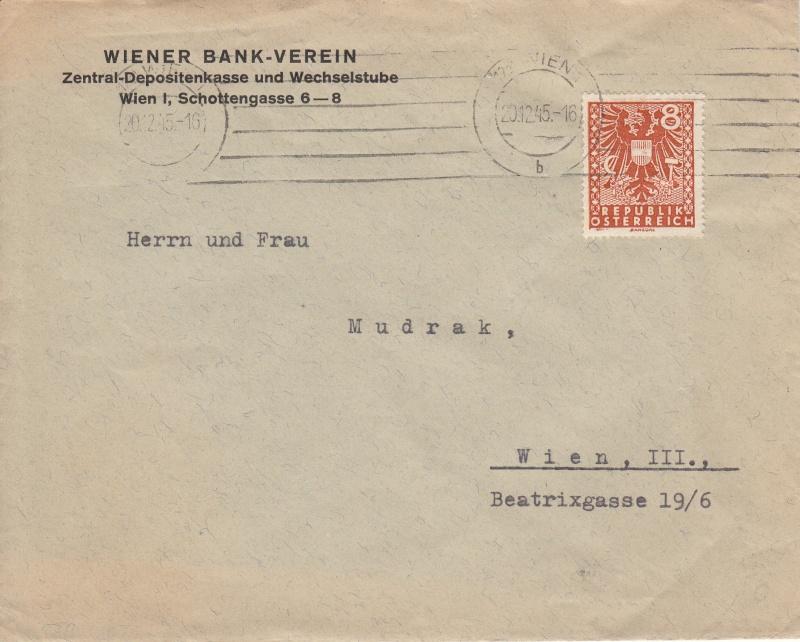 Briefe / Poststücke österreichischer Banken - Seite 2 Img29