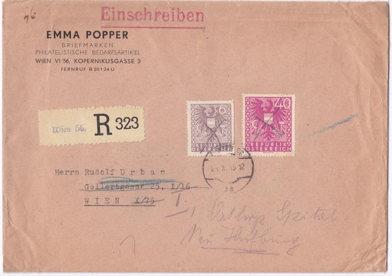Wappenzeichnung  -  ANK 714-736 - Belege - Seite 2 Img63