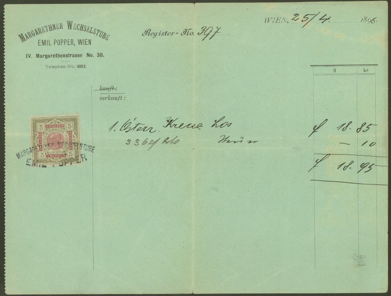 Briefe / Poststücke österreichischer Banken - Seite 2 25049611