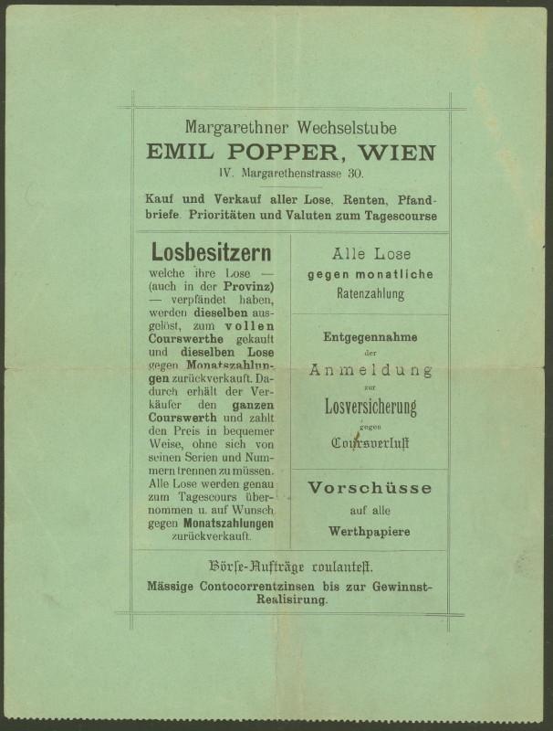 Briefe / Poststücke österreichischer Banken - Seite 2 25049612