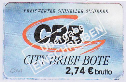 CBB - CityBriefBote 274_eu10