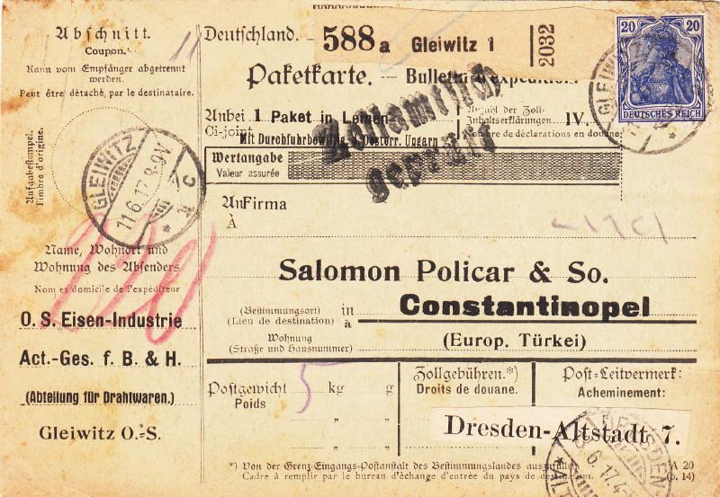 Deutsches Reich 1900 bis Mai 1919 - Germaniazeichnung 87_94x10