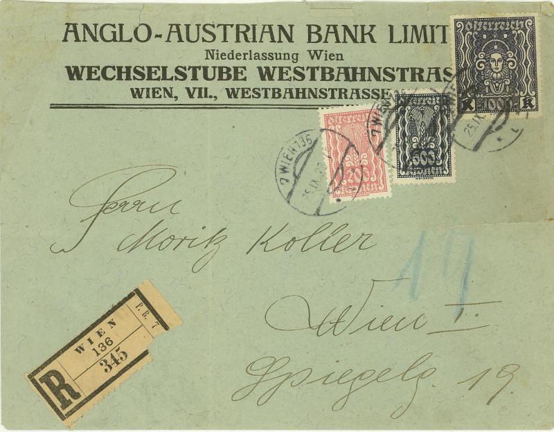Briefe / Poststücke österreichischer Banken - Seite 2 At_ang10