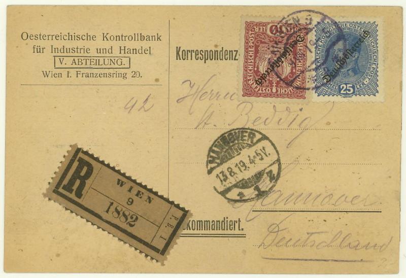 Briefe / Poststücke österreichischer Banken - Seite 2 At_kon10