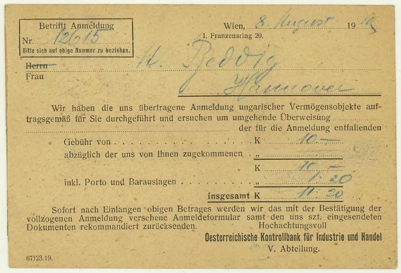Briefe / Poststücke österreichischer Banken - Seite 2 At_kon11