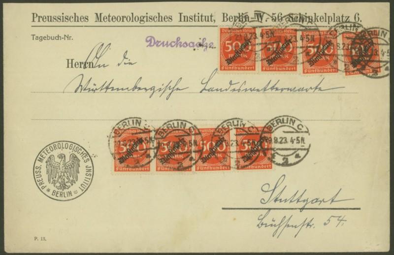Deutsches Reich Dienstmarken Berlin10
