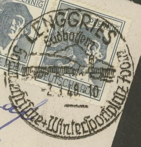 nach - Ortswerbestempel - Deutschland nach 1945 (Handstempel) Lenggr10
