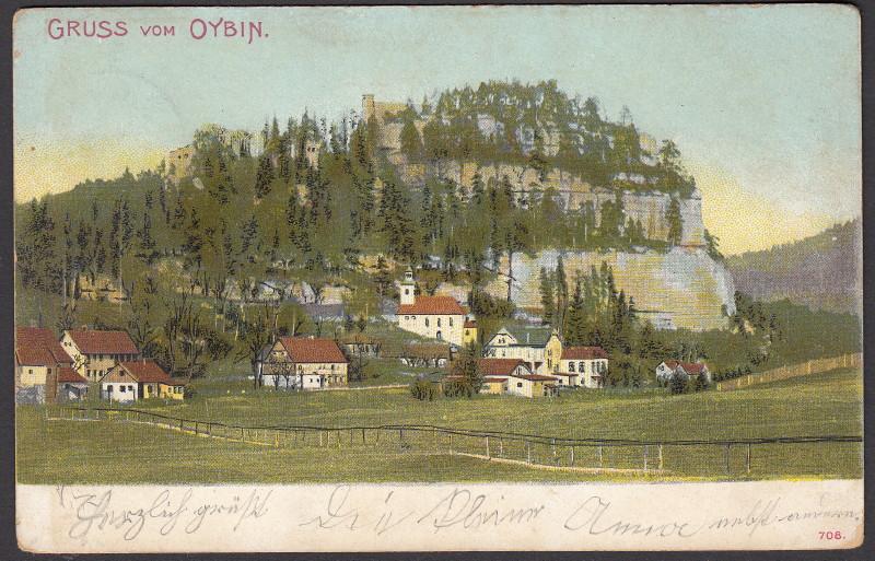 Alte Farbkarten deutscher Städte und Landschaften - Seite 2 Oybin10