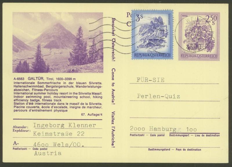 """Ganzsachen mit Wertstempel """"Schönes Österreich"""" - Seite 2 P_442_17"""