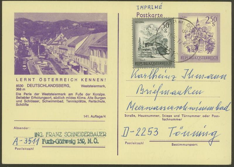 """Wertstempel """"Schönes Österreich"""" - Zudrucke auf Ganzsachen - Seite 2 P_446_10"""