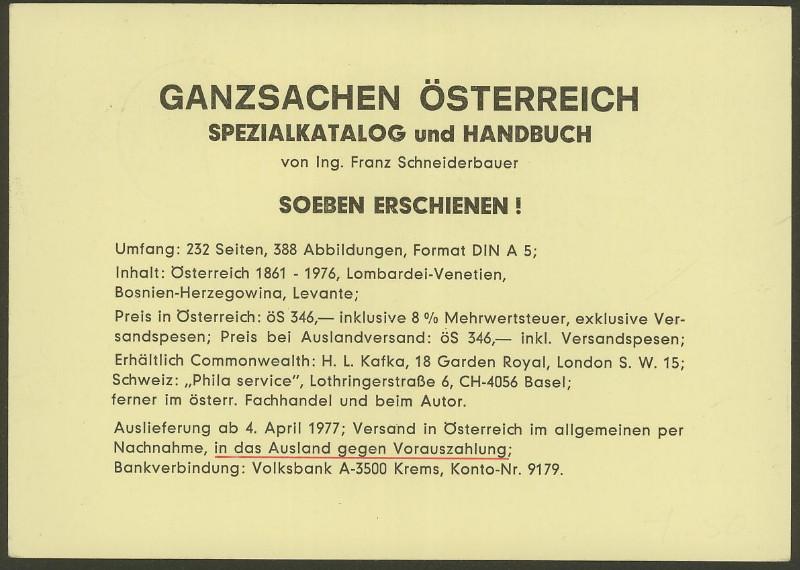 """Wertstempel """"Schönes Österreich"""" - Zudrucke auf Ganzsachen - Seite 2 P_446_11"""