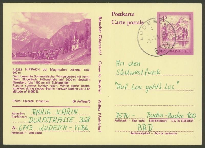 """Ganzsachen mit Wertstempel """"Schönes Österreich"""" - Seite 2 P_447_12"""